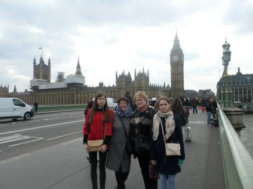 Наталья, групповой тур школьников в Лондон